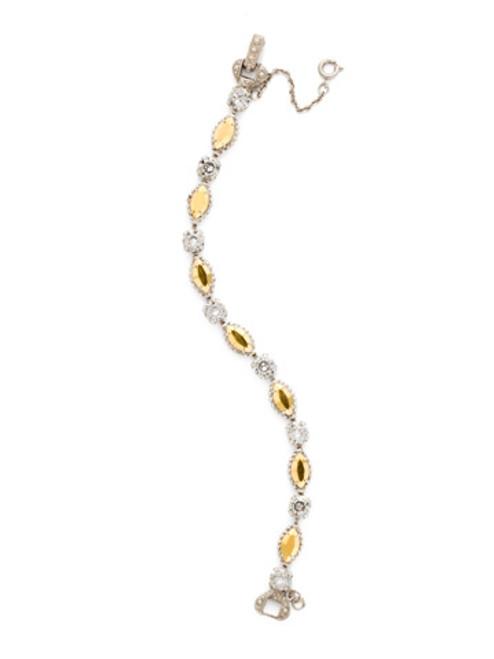 Sorrelli Gold Vermeil Mini Marquise Bracelet- BDG1ASGV