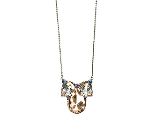 DIXIE PUT A BOW ON IT CRYSTAL NECKLACE BY SORRELLI -NCQ11ASDX