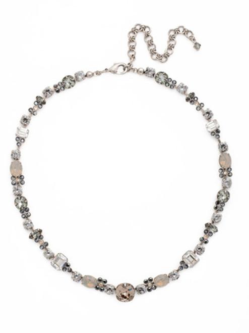 Sorrelli Gold Vermeil Classic Clover Necklace- NCD2ASGV
