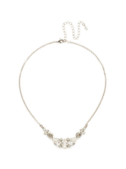CRYSTAL LACE CRYSANTHEMUM STATEMENT NECKLACE BY SORRELLI~NDN4ASCLA