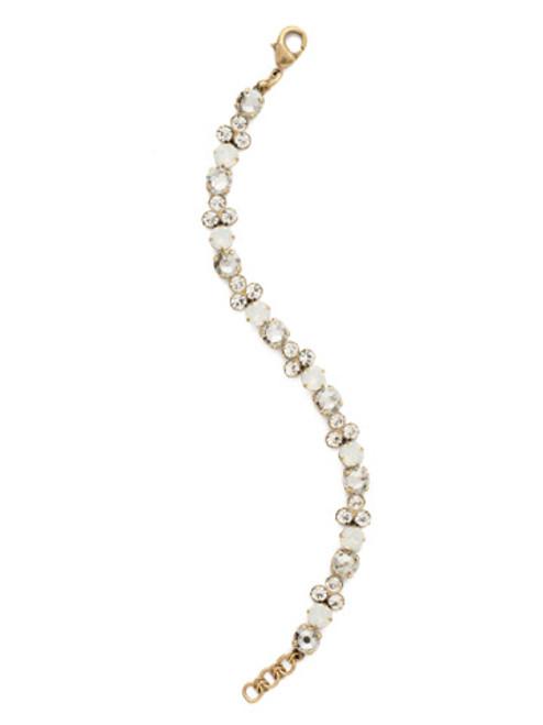 Sorrelli Crystal Lace- Wisteria Tennis Bracelet~ BDQ36AGCLA