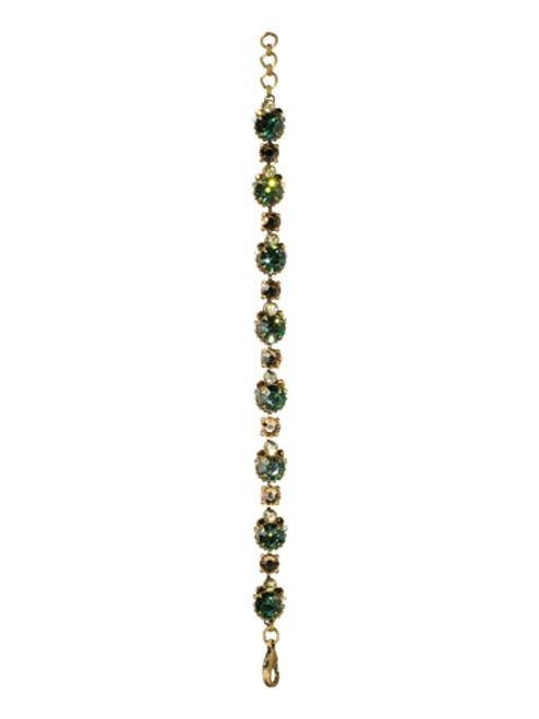 Sorrelli- Water Lily- Embellished Crystal Cushion Bracelet~ BCG3AGWL
