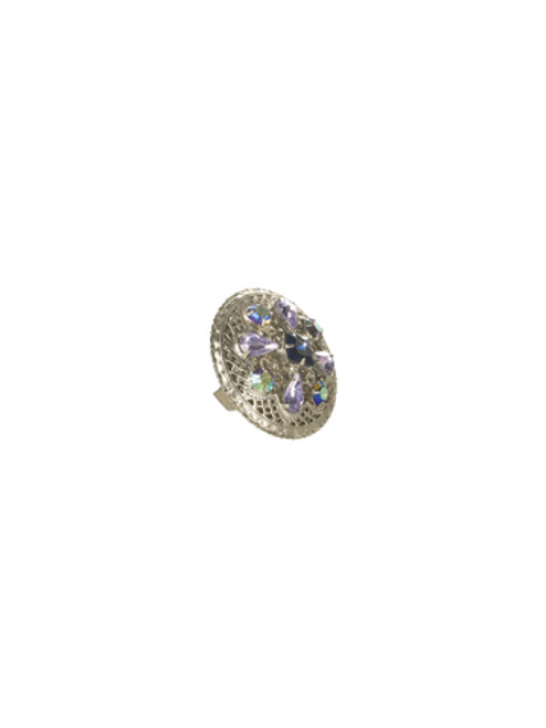 Sorrelli HYDRANGEA-Filigree and Fancy Free Ring~ RCP31ASHY