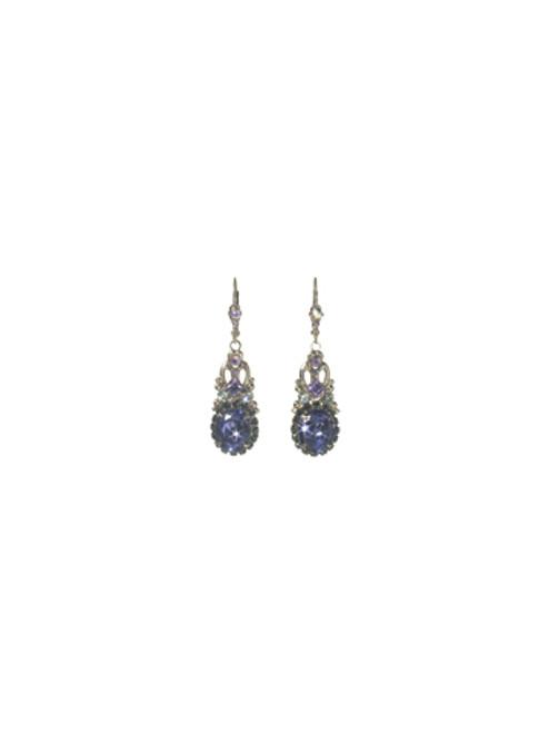 Sorrelli HYDRANGEA-Stardust Drop Earrings~ ECJ8ASHY