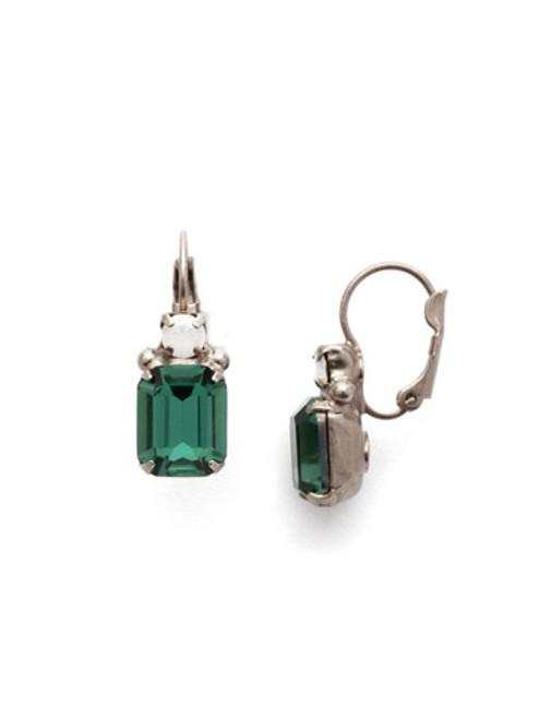 Sorrelli Game Day Green - Zelmira Dangle Earrings~ EEA7ASGDG