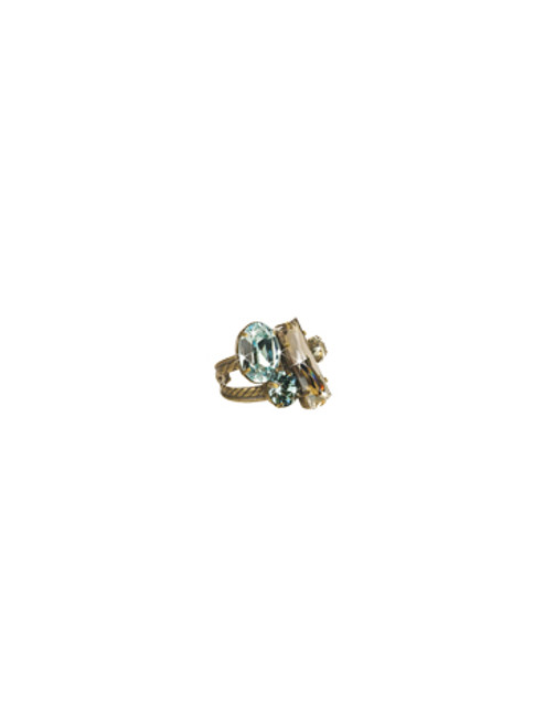 Sorrelli Afterglow-Abstract Cluster Ring ~ RCF54AGAFG