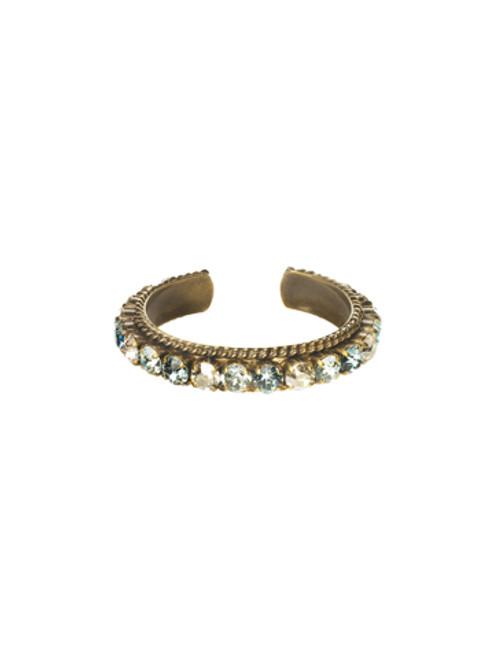 Sorrelli Afterglow- Quintessential Woven Cuff Bracelet~ BCN1AGAFG
