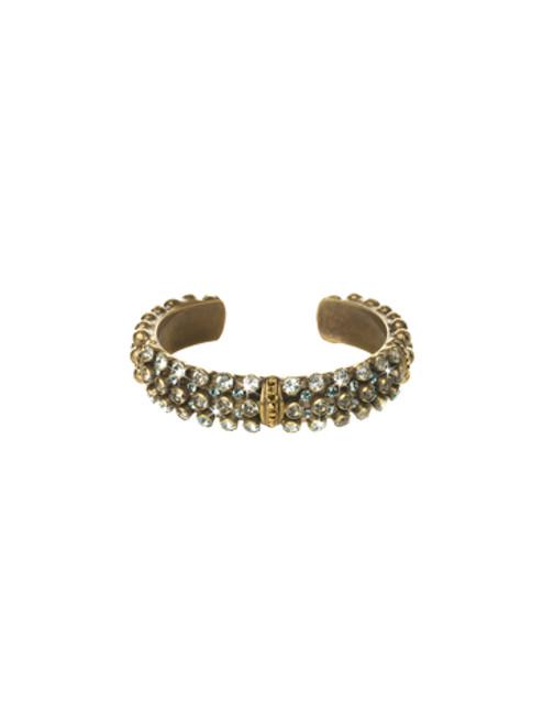 Sorrelli Afterglow-Wistful Wrist Cuff Bracelet~ BCN200AGAFG