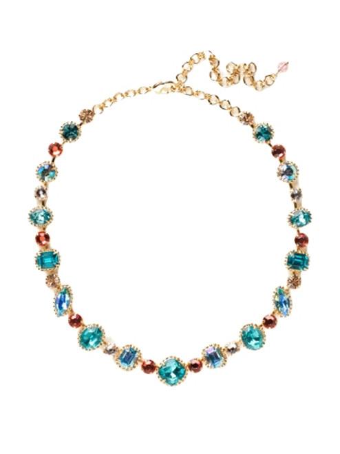 Sorrelli Caribbean Coral- Lavish Life Classic Necklace~ NCP37BGCCO