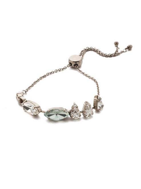 Sorrelli Ice Blue- Mini Arya Slider Bracelet~ BEF82ASIB