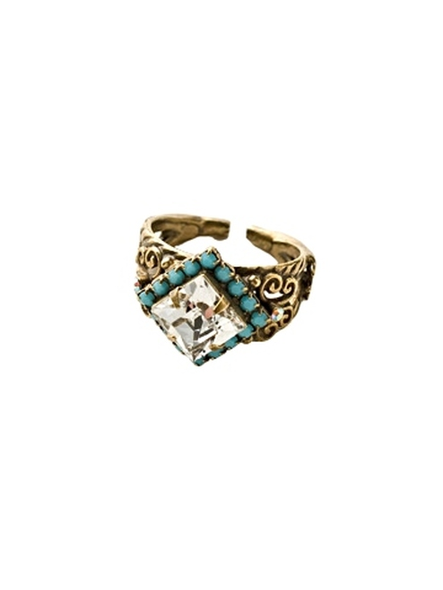 Sorrelli Azure Allure-Perfectly Pointed Ring~ RCP9AGAZ