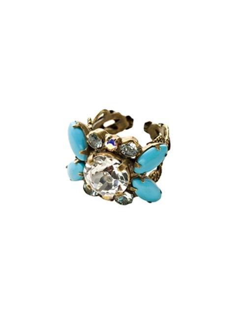 Sorrelli Azure Allure-It's a Bling Thing Ring~ RCQ16AGAZ