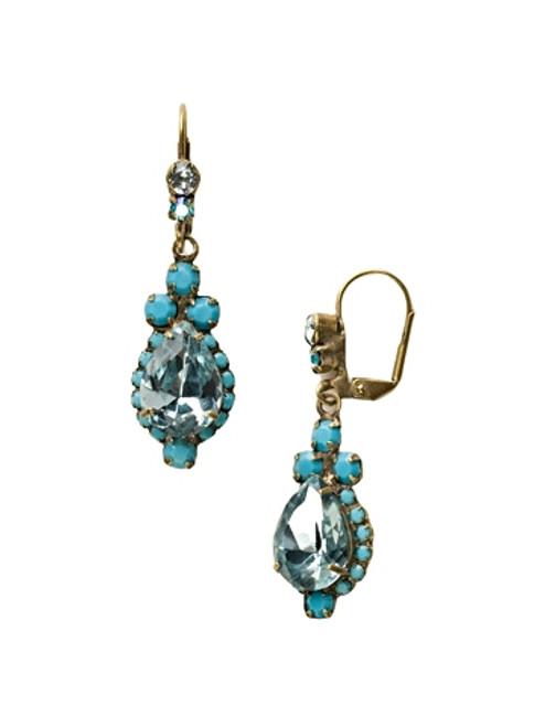 Sorrelli Azure Allure- Sweet Treats Dangle Earrings~ ECM19AGAZ