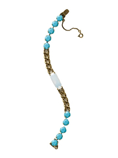 Sorrelli Azure Allure-Baguette Chain Bracelet~ BCQ8AGAZ