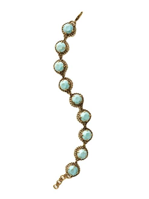 Sorrelli Azure Allure- Embellished Crystal Tennis Bracelet~ BCN2AGAZ