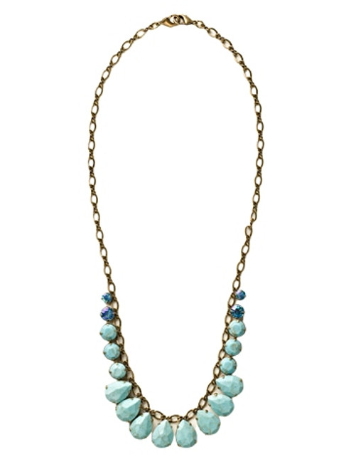 Sorrelli Azure Allure- Paired to Perfection Necklace~ NCR118AGAZ