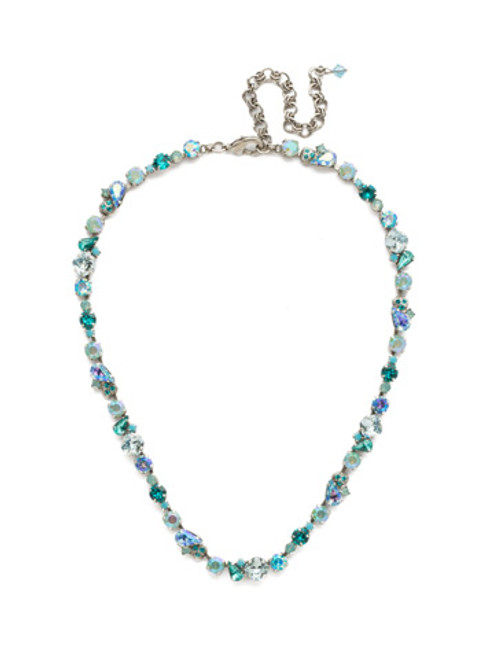 SORRELLI SWEET MINT CRYSTAL CLASSIC NECKLACE~NDU7ASSMN
