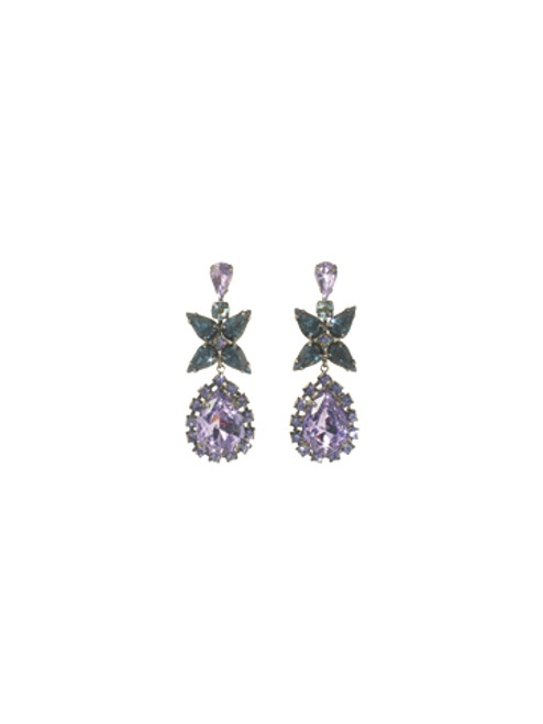 Sorrelli HYDRANGEA-Bauble Blossoms Earrings~ ECP21ASHY