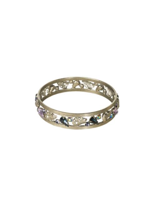 Sorrelli HYDRANGEA-Trailblazing Bangle Bracelet~ BCP36ASHY
