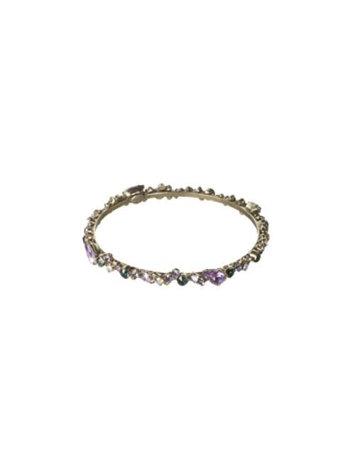 Sorrelli HYDRANGEA-Bundle of Bling Bangle Bracelet~ BCP19ASHY