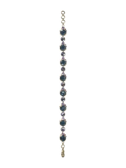 Sorrelli HYDRANGEA-Embellished Crystal Cushion Bracelet~ BCG3ASHY
