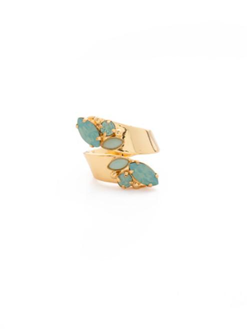 SORRELLI~ Pacific Opal-Fantastic Flourish Ring~ RDG4BGPAC