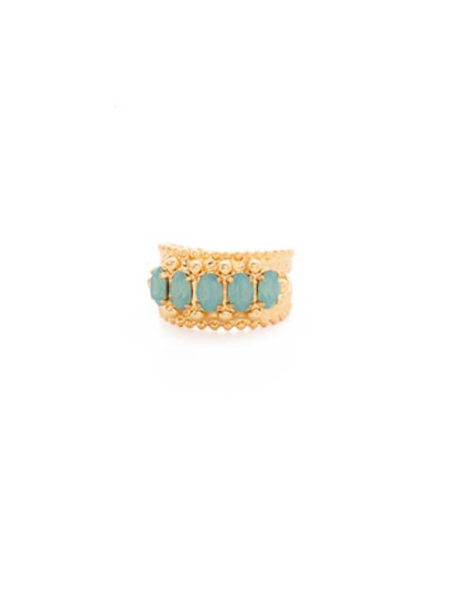 Sorrelli~ Pacific Opal-Crown Jewel Cocktail Ring~ RDH2BGPAC