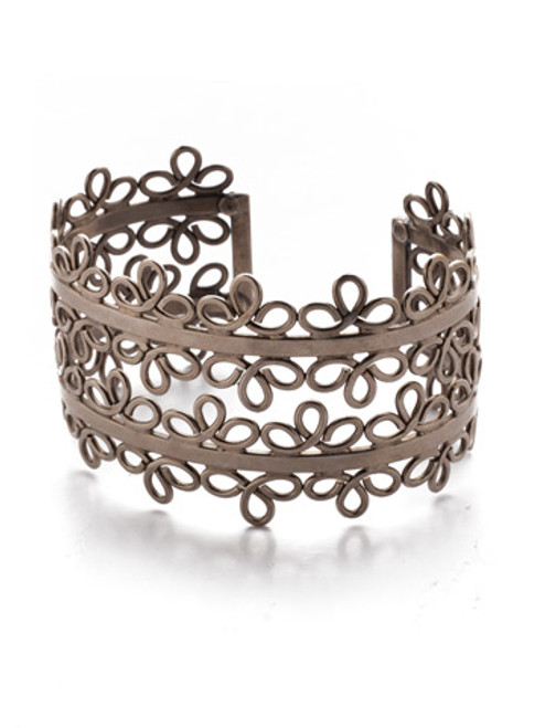 Sorrelli Crystal Collection- Leilani Cuff Bracelet~ 4BES9ASCRY