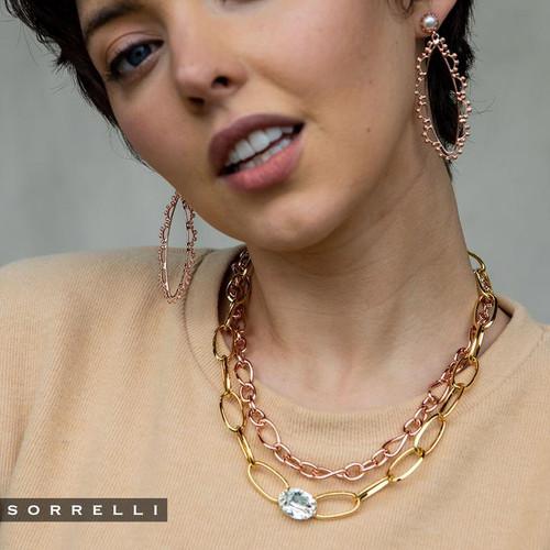 Sorrelli Crystal- Hollis Statement Earrings ~ 4EES80RGCRY