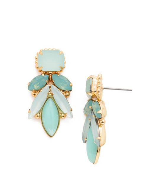 Sorrelli- Pacific Opal- Emerald Cut Kotinos Earrings~ EDG19BGPAC