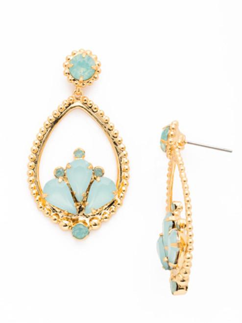 Sorrelli- Pacific Opal- Arabesque Earrings~ EDJ7BGPAC