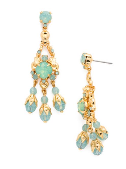 Sorrelli- Pacific Opal- Globe Chandelier Earrings~ ECJ54BGPAC