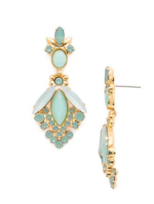 Sorrelli- Pacific Opal- Baroque Statement Earrings~ EDG2BGPAC