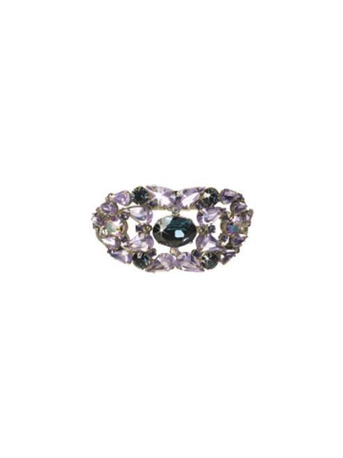 Sorrelli HYDRANGEA-Center of Attention Cuff Bracelet~ BCP6ASHY