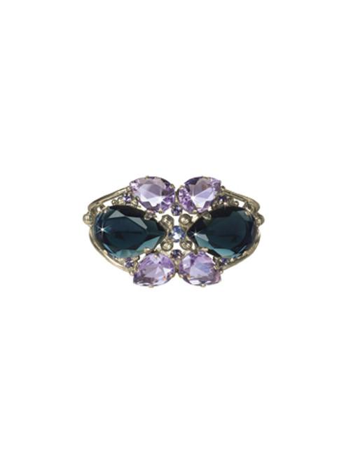 Sorrelli HYDRANGEA-Secret Garden Cuff Bracelet~ BCP1ASHY