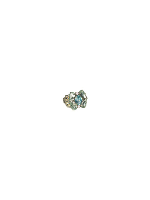Sorrelli- CUPCAKE- Splash in the Sparkle Crystal Ring~ RCP4ASCUP