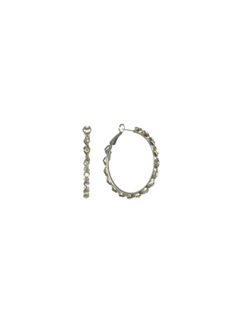 Sorrelli- CUPCAKE-Crystallized Hoop Earrings~ ECM38ASCUP
