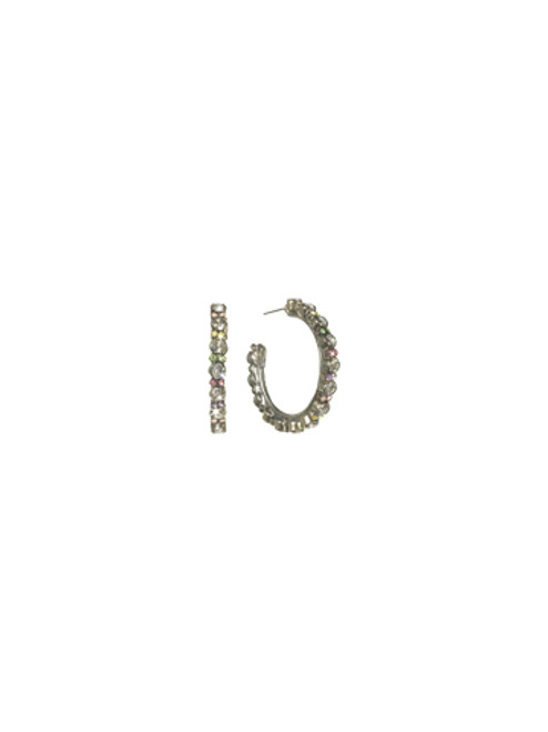Sorrelli- CUPCAKE-Stone Studded Hoop Earrings~ ECL2ASCUP
