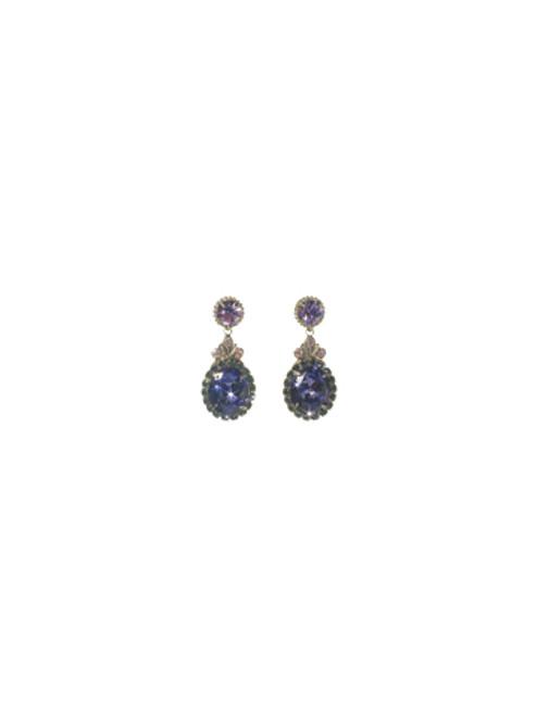 Sorrelli HYDRANGEA -Solar Sparkle Earrings~ ECJ2ASHY