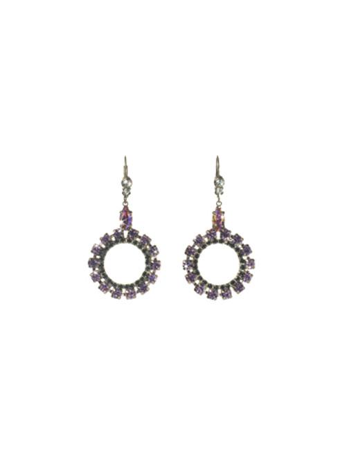 Sorrelli HYDRANGEA -Luxe Loop Earrings ~ ECN37ASHY