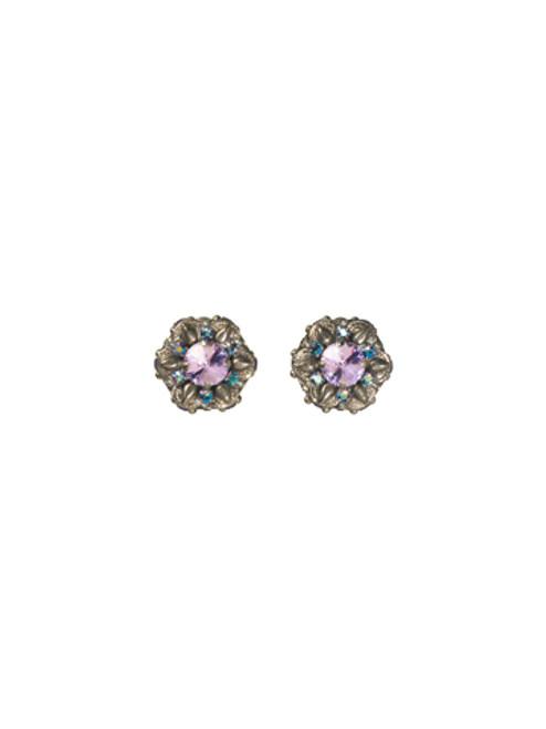Sorrelli HYDRANGEA -Crystal Clip On Earrings ~ ECP10CASHY