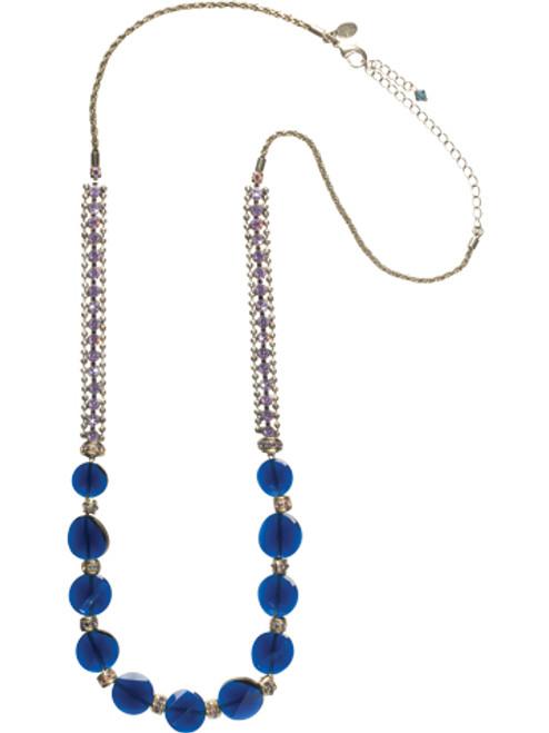 Sorrelli HYDRANGEA -Luxurious Long Strand Necklace~ NCP39ASHY