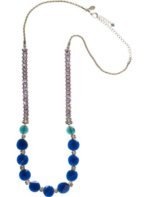 Sorrelli HYDRANGEA -Bead Them Speechless Necklace~ NCN20ASHY