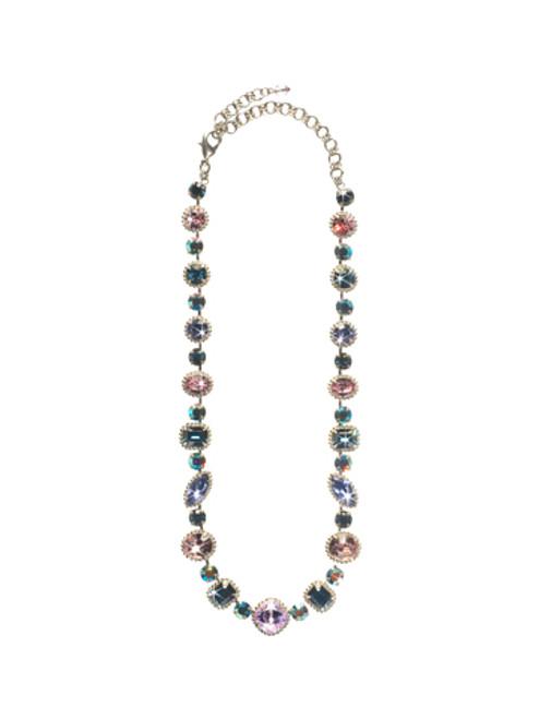 Sorrelli HYDRANGEA -Lavish Life Necklace~ NCP37ASHY
