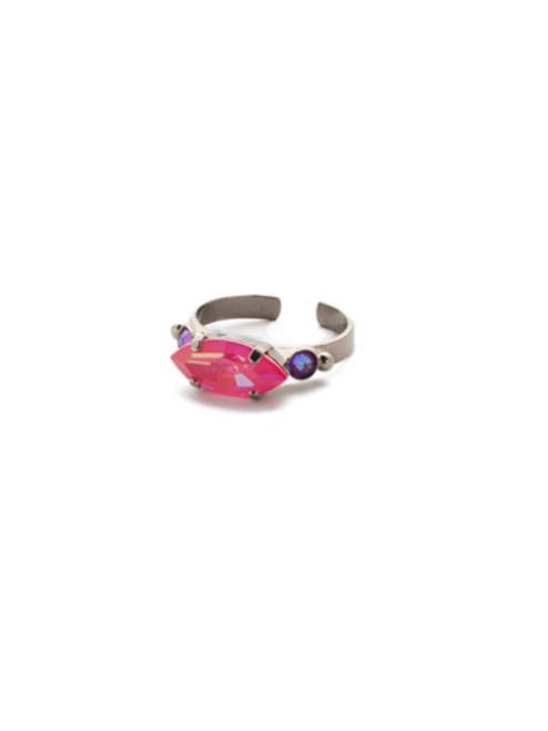 Sorrelli Electric Pink -Carson Band Ring~ RET57ASETP