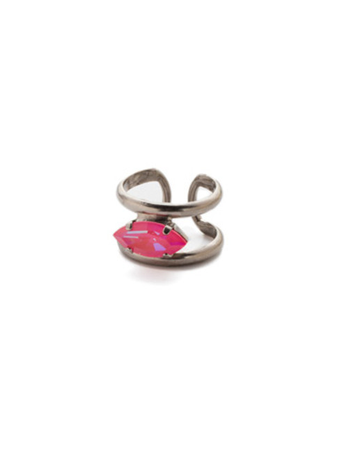 Sorrelli Electric Pink -Camille Stacked Ring~ REP7ASETP