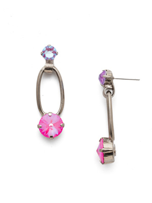 Sorrelli Electric Pink - Milania Dangle Earrings~ EET2ASETP
