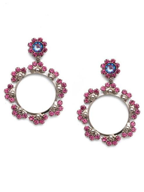 Sorrelli Electric Pink - Bryn Statement Earrings~ EEP82ASETP