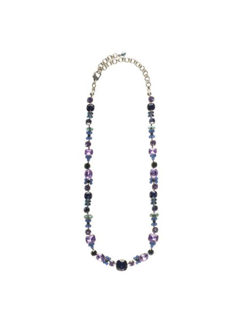 Sorrelli HYDRANGEA-Classic Clover Necklace~ NCD2ASHY