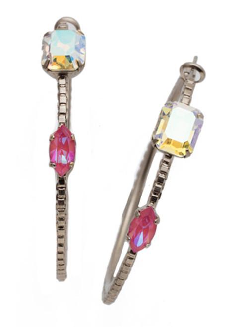Sorrelli Electric Pink - Zoe Hoop Earrings~ EEN31ASETP